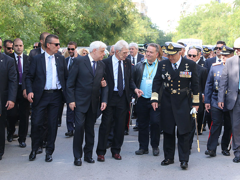 President of Democracy, Mr Pavlopoulos