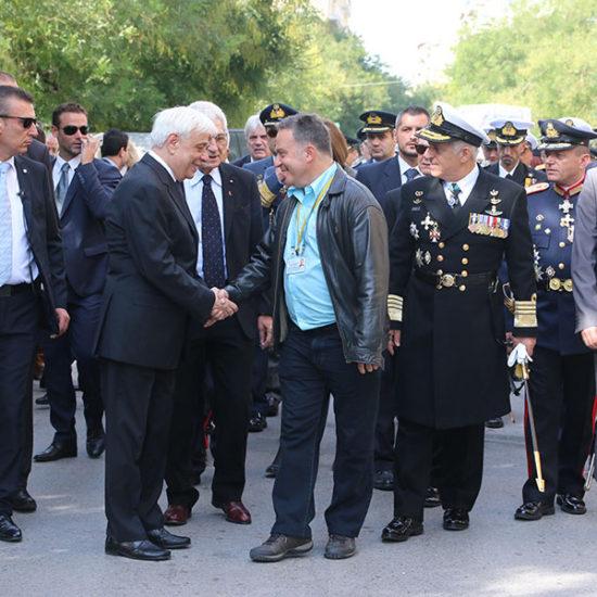 President of Democracy, Mr Pavlopoulos